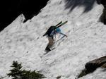 Climbing Headlee Pass