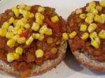 Sloppy Lentil Sandwich w/Corn