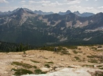 At Cutthroat Pass - 6800 ft