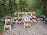 Canyon Creek Road Closed