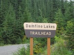 Damfino Lakes Trailhead Sign - IMG_0538