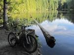 Bike at Cedar Lake –IMG_0679