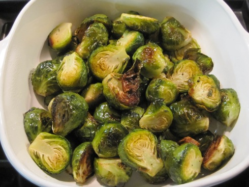 Thyme-Roasted Brussels Sprouts - IMG_7114