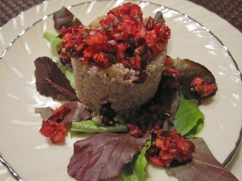 Cranberry Quinoa Salad - IMG_7139