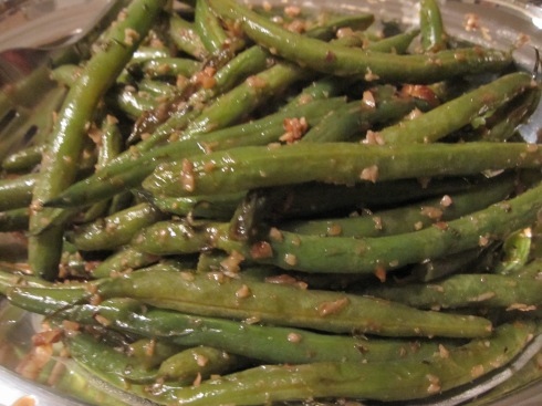 Garlic-Glazed Green Beans - IMG_7147