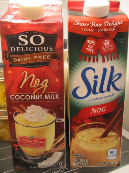 So Delicious Nog and Silk Nog - IMG_7356