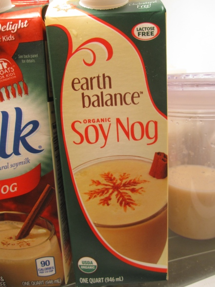 Earth Balance Soy Nog - IMG_7423