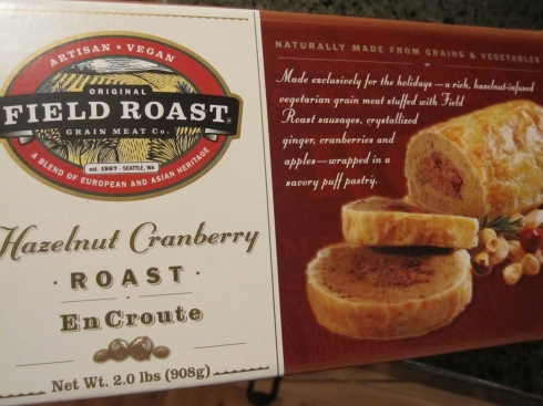 Field Roast Hazelnut Cranberry Roast En Croute - IMG_7441