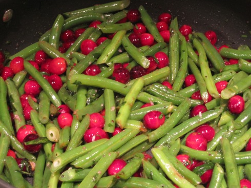 Green Beans & Cranberries - IMG_7600