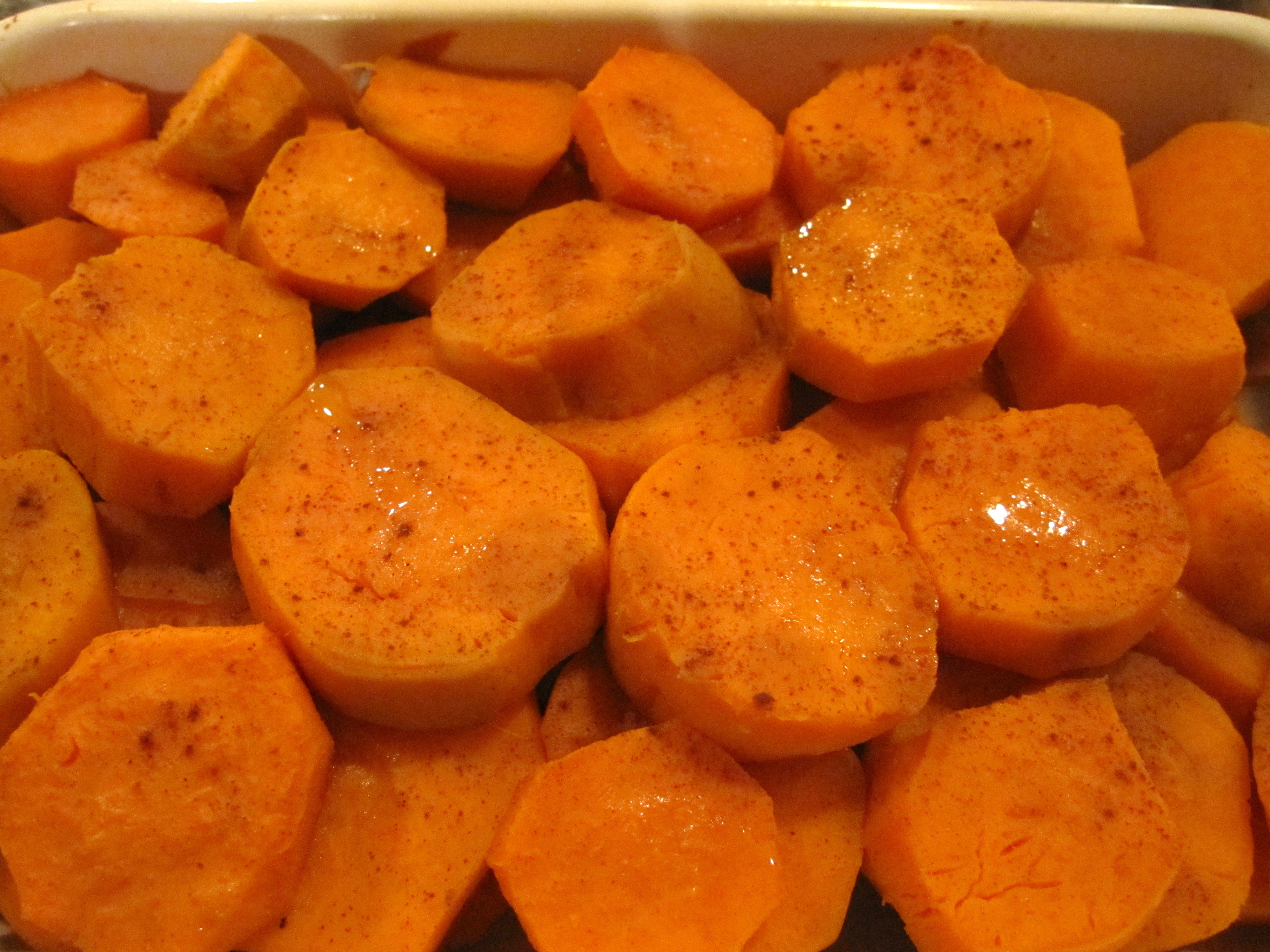 how to make baked yams