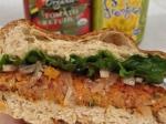 Carrot Sunflower Bean Burger –IMG_1949