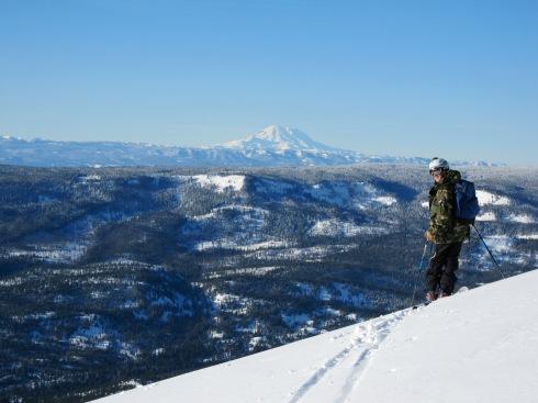 Eric & Mt Rainier - IMG_3219