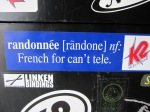 Randonnee: French for Can't Tele –IMG_9088