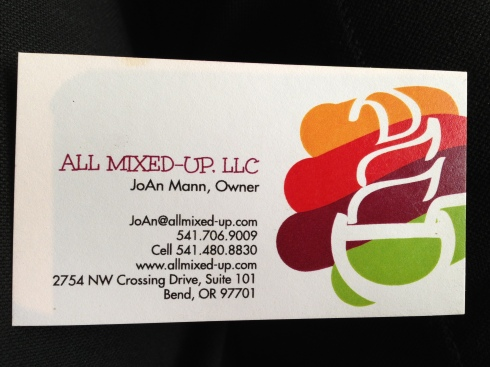 All Mixed-Up Business Card