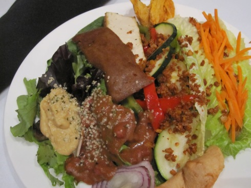 Lunch in the Ballroom:  The Sandwich Board