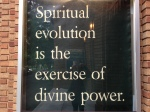 Spiritual Evolution is the exercise of divinepower.photo-14
