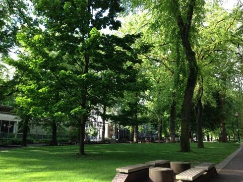 Portland State University grounds