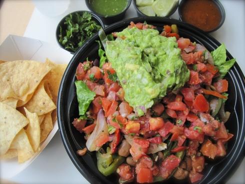 Baja Fresh Bare-Style Vegan Burrito
