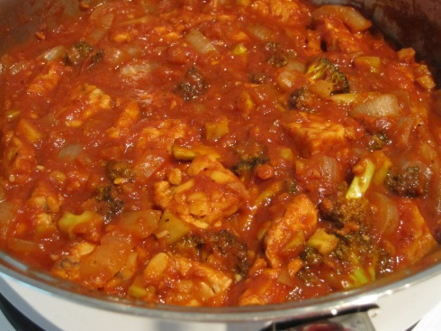 Tangy BBQ Tempeh - IMG_2555
