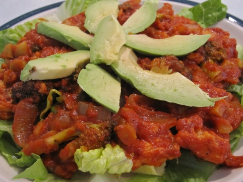 Tangy BBQ Tempeh - IMG_2563