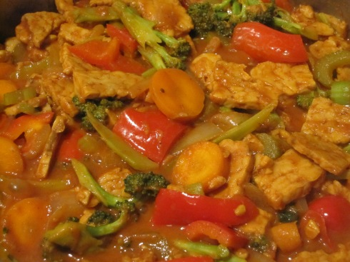 Tempeh Veggie Curry - IMG_2668