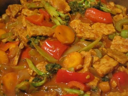 Tempeh Veggie Curry - IMG_2668