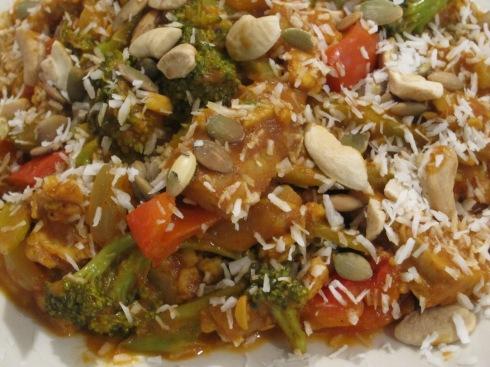 Tempeh Veggie Curry - IMG_2677