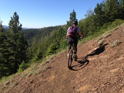 Elisa on Iron Creek/Bear Creek Trail #1351