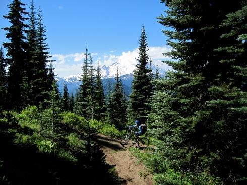 Ridge climb - July 31, 2010