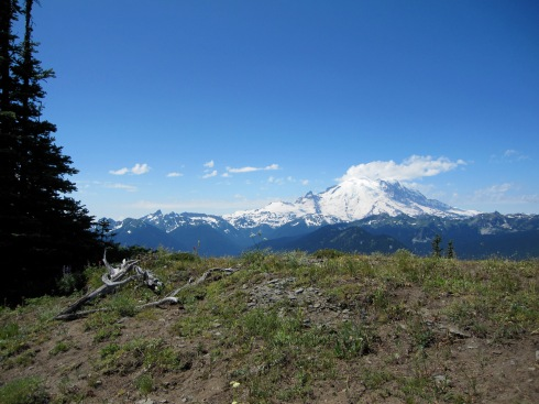 Mt Rainier from Crystal Mountain Ridge - July 31, 2010