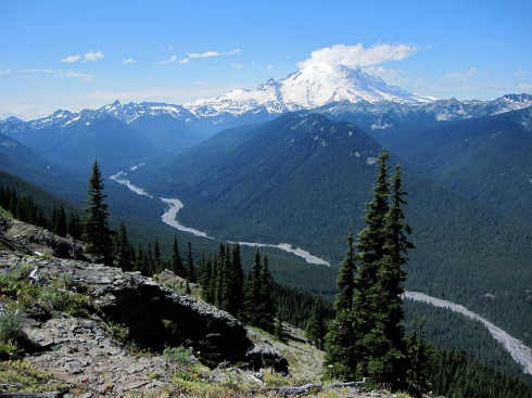 White River & Mt Rainier - July 31, 2010