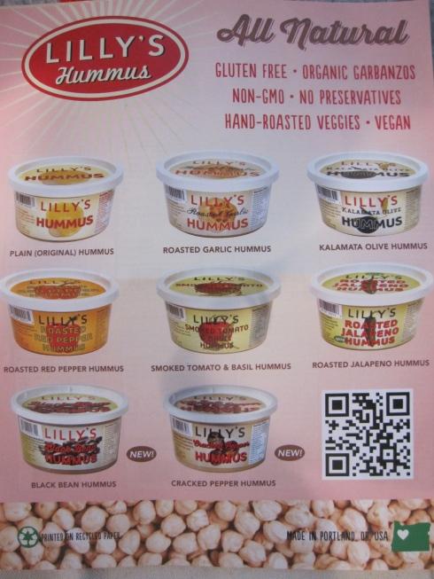 Hummus flavors