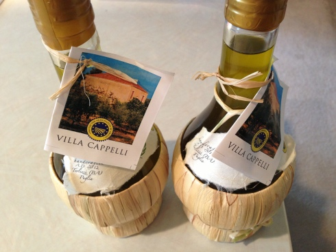 "Villa Cappelli is a sponsor of the Angriest Trainer Podcast.  It's the best olive oil and has the ""Puglia pinch."""