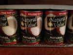 Natural Value CoconutMilk