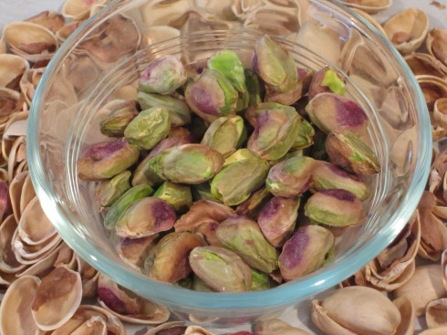 Unsalted pistachios from nuts.com