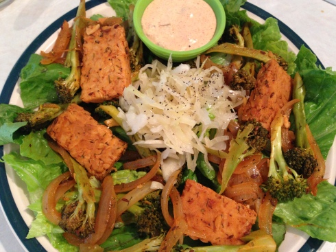 Tempeh Reuben Salad (NSNG)