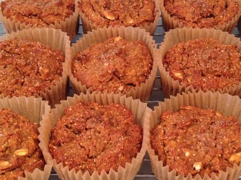 Maple Persimmon Muffins (GF)