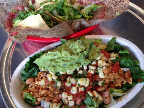 Vegan Sofritas at Chipotle Mexican Grill