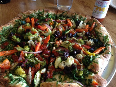 Vegan Pizza at Lemolo