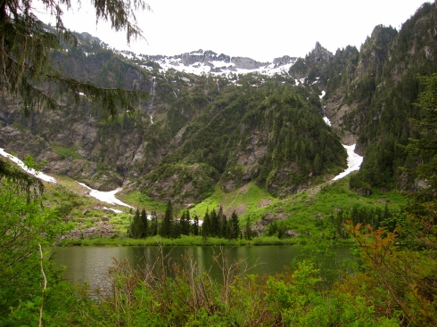 Heather Lake - Sunday, June 8, 2014