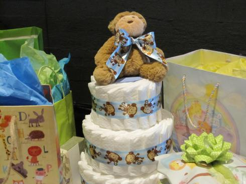 Diaper Cake by Karin