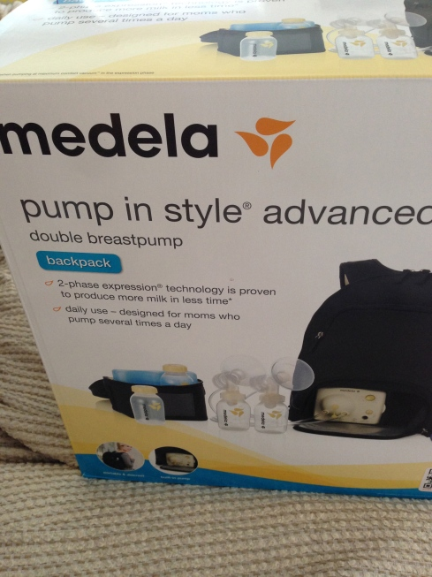 September 2, 2014 - Medela Pump in Style Advanced arrived at my door
