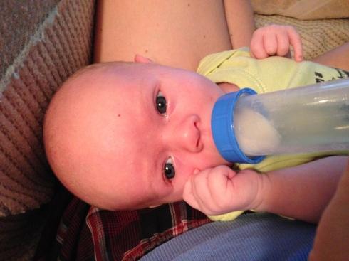 My bottle baby - September 19, 2014