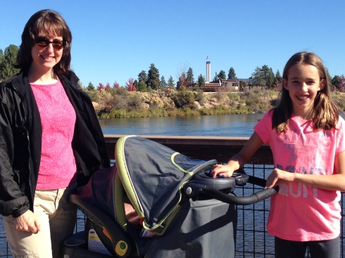September 18, 2014 - Bend, OR - 8 Weeks Post-Partum
