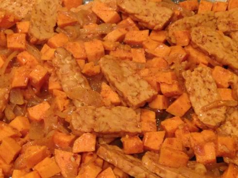 Tandoori Tempeh & Potato