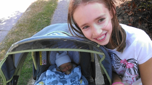 Stroller Walk - August 24, 2014