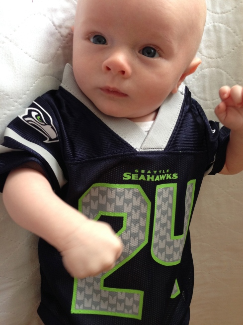 Go Seahawks! - October 12, 2014