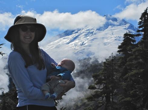 Elisa, Todd & Mt Baker