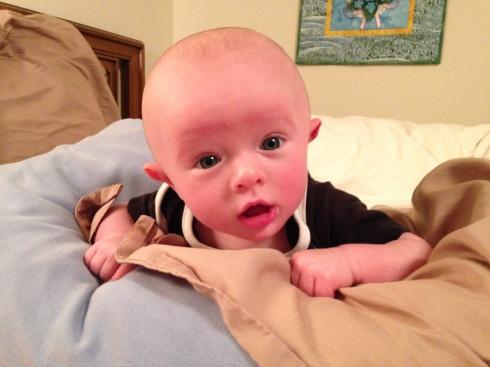 Todd at 3 months old - November 21, 2014