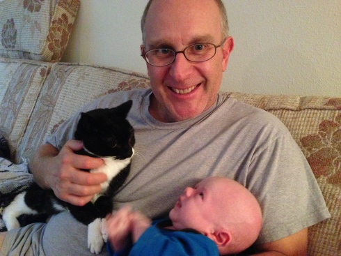 Todd was 1 month old - September 26, 2014